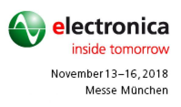2018年慕尼黑国际电子元器件博览会 electronica 2018